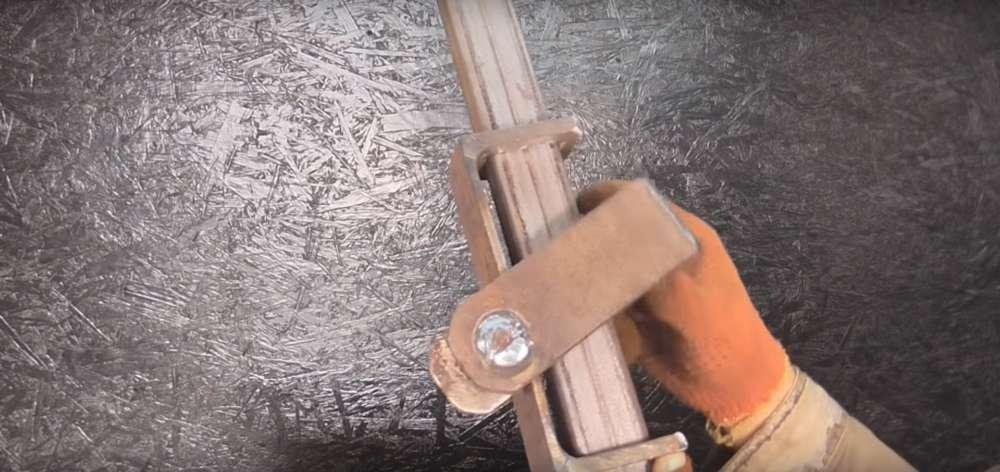 процесс изготовления реечного домкрата шаг 13