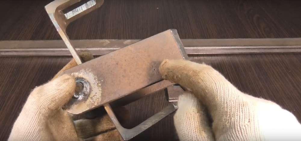 процесс изготовления реечного домкрата шаг 16