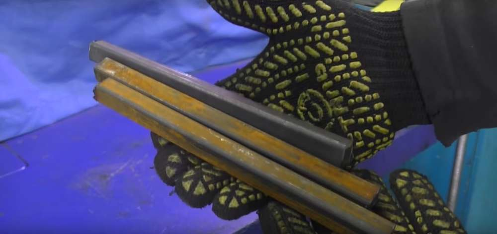 процесс изготовления мангала из автомобильного диска шаг 19
