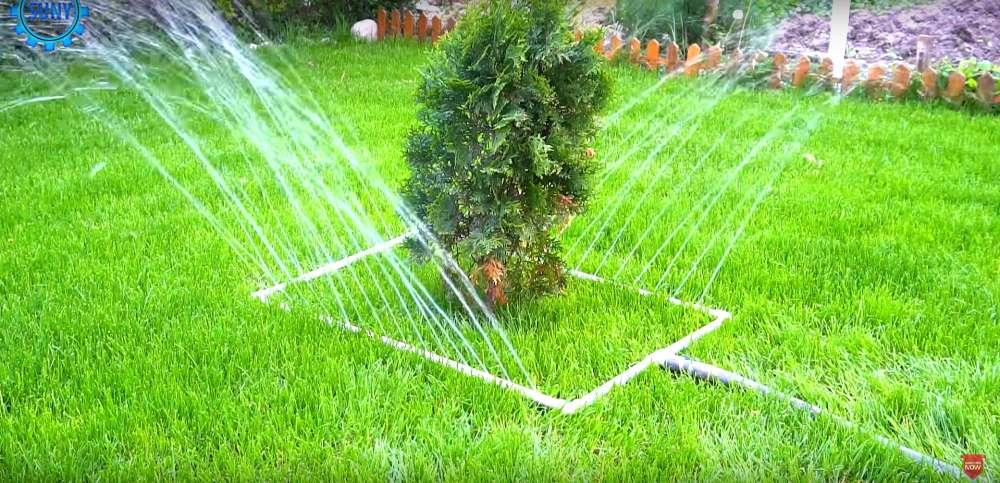Система полива газона своими руками