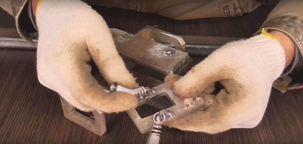 процесс изготовления реечного домкрата шаг 23