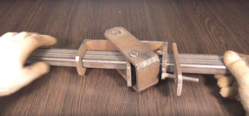 процесс изготовления реечного домкрата шаг 28