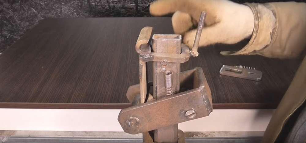 процесс изготовления реечного домкрата шаг 32