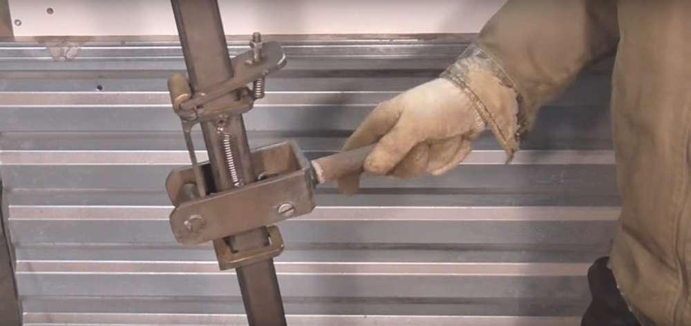 процесс изготовления реечного домкрата шаг 34
