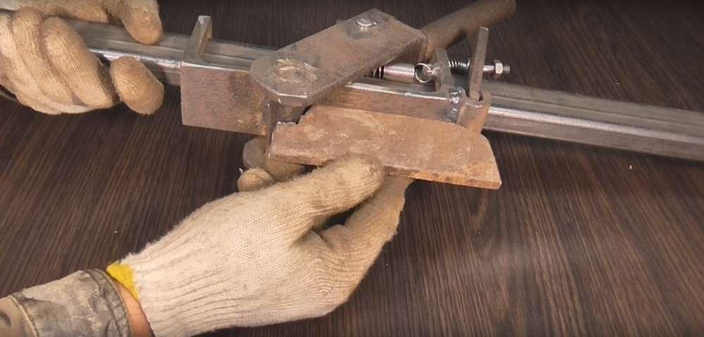 процесс изготовления реечного домкрата шаг 35