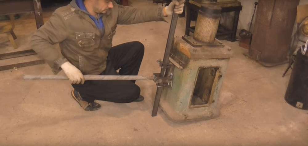 процесс изготовления реечного домкрата шаг 36