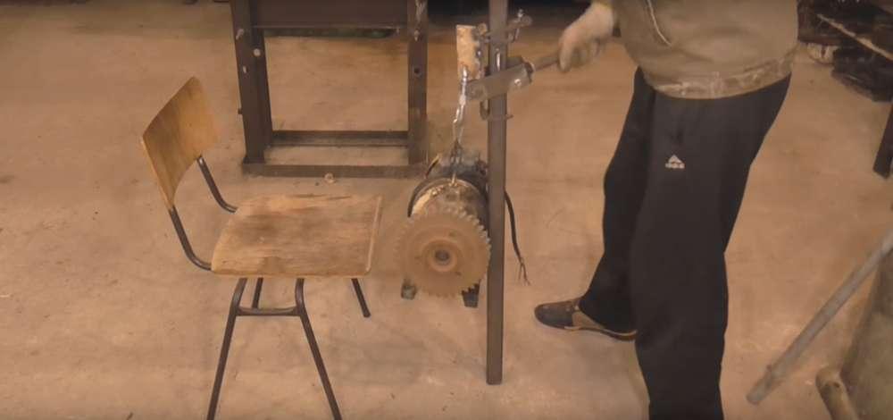 процесс изготовления реечного домкрата шаг 37