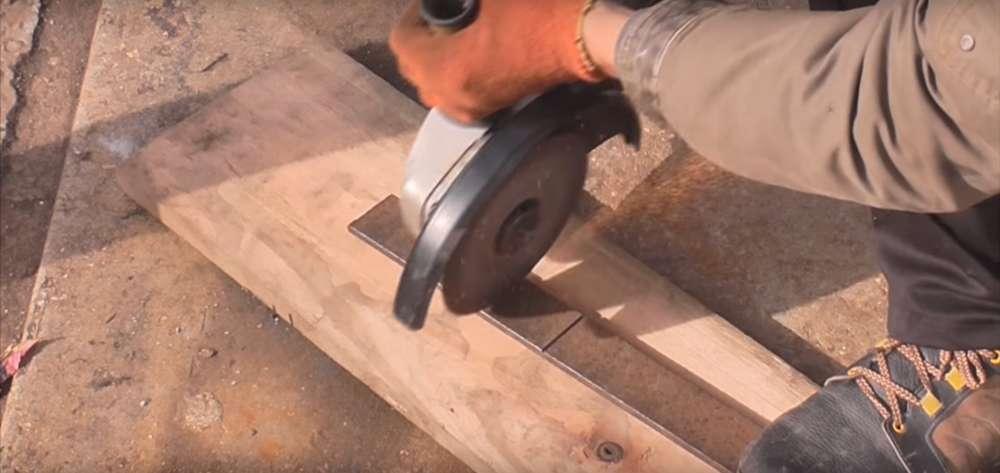 процесс изготовления реечного домкрата шаг 7