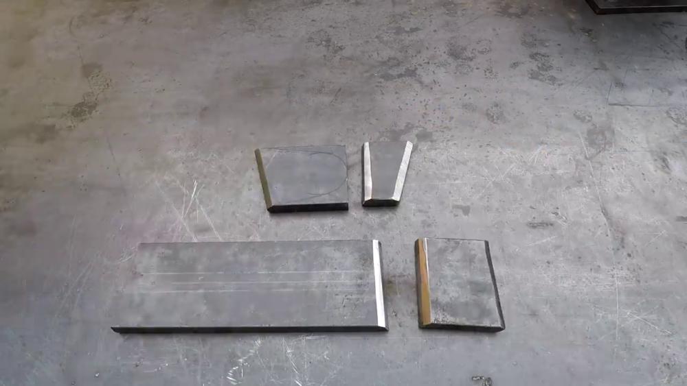 процесс изготовления самодельного станка для гибки металла шаг 18