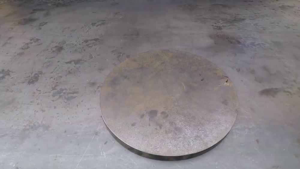 процесс изготовления самодельного станка для гибки металла шаг 1
