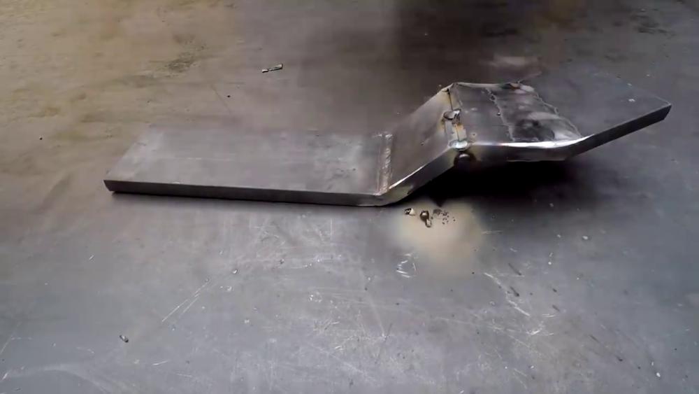 процесс изготовления самодельного станка для гибки металла шаг 19