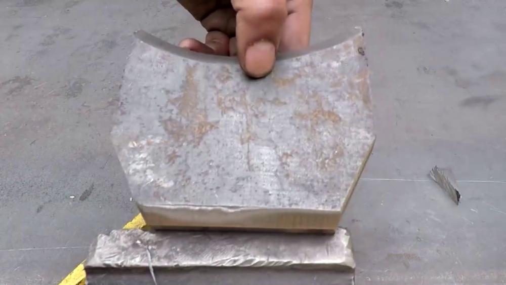 процесс изготовления самодельного станка для гибки металла шаг 6