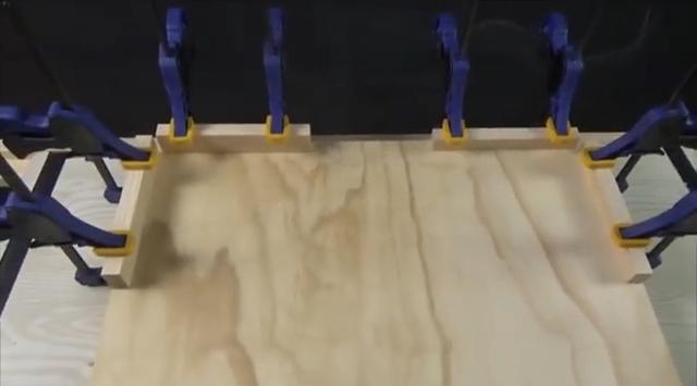 процесс изготовления угловой двойной струбцины шаг 5