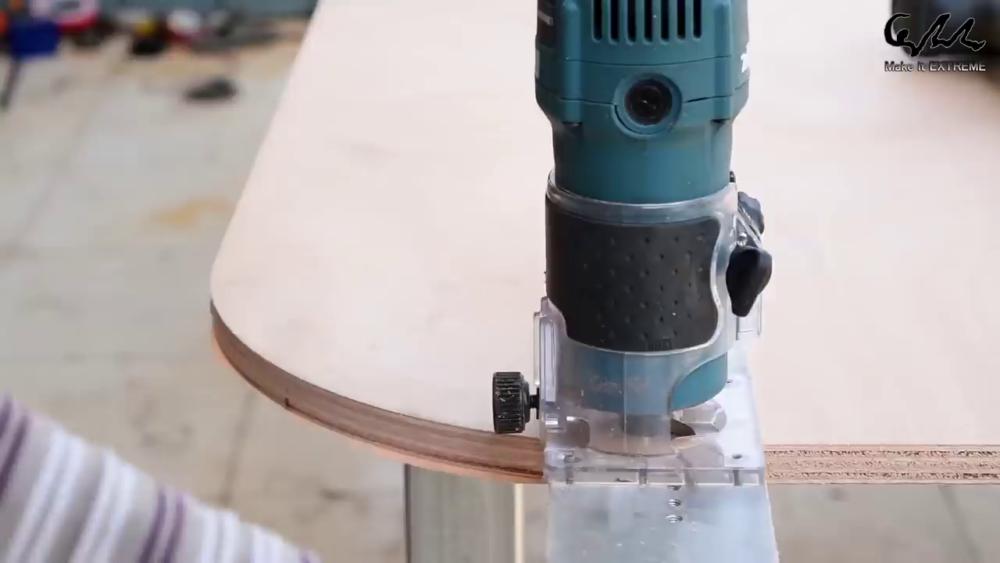 процесс изготовления стол с барбекю шаг 15