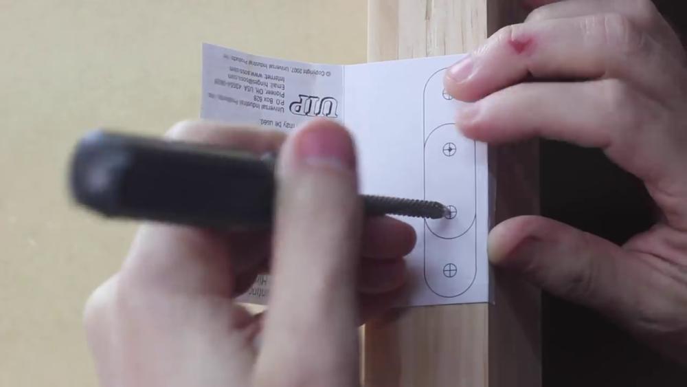 процесс изготовления потайного дверь-шкафа из фанеры шаг 19