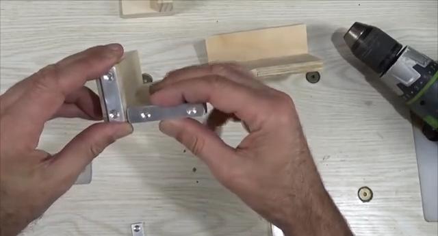 процесс изготовления угловой двойной струбцины шаг 14