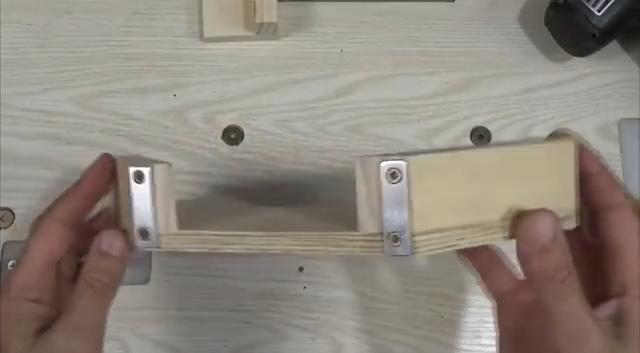 процесс изготовления угловой двойной струбцины шаг 16