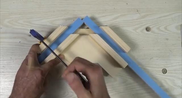 процесс изготовления угловой двойной струбцины шаг 19