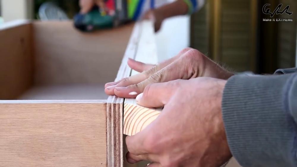 процесс изготовления стол с барбекю шаг 28
