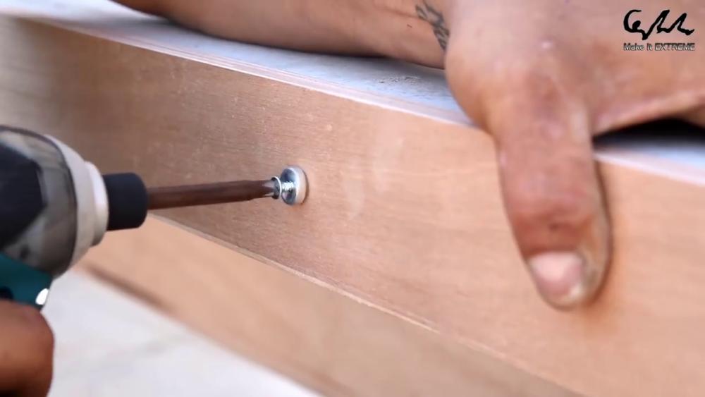 процесс изготовления стол с барбекю шаг 32