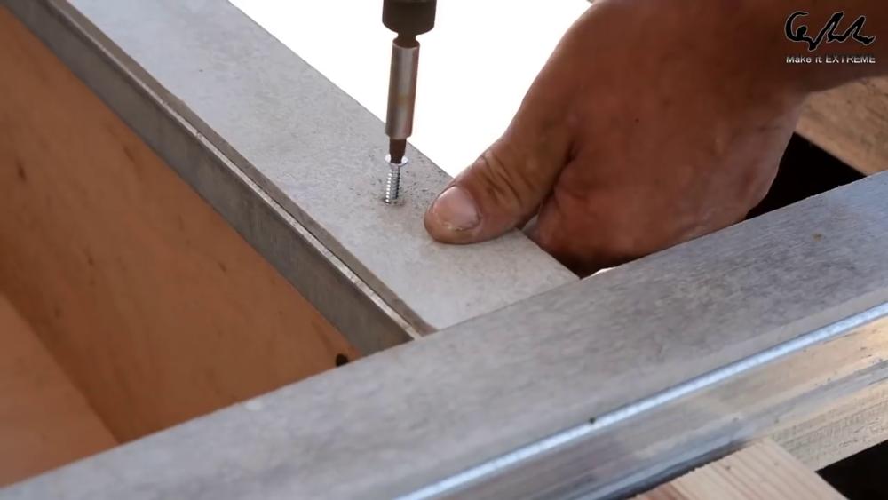 процесс изготовления стол с барбекю шаг 39