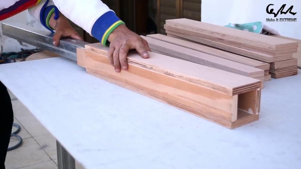 процесс изготовления стол с барбекю шаг 41