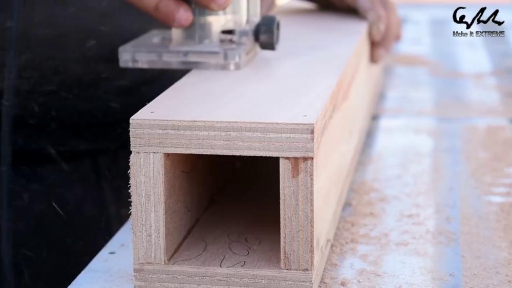процесс изготовления стол с барбекю шаг 42