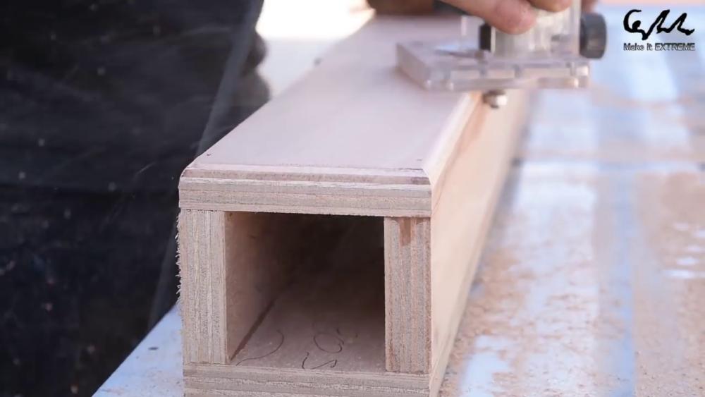процесс изготовления стол с барбекю шаг 43