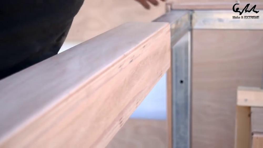 процесс изготовления стол с барбекю шаг 47
