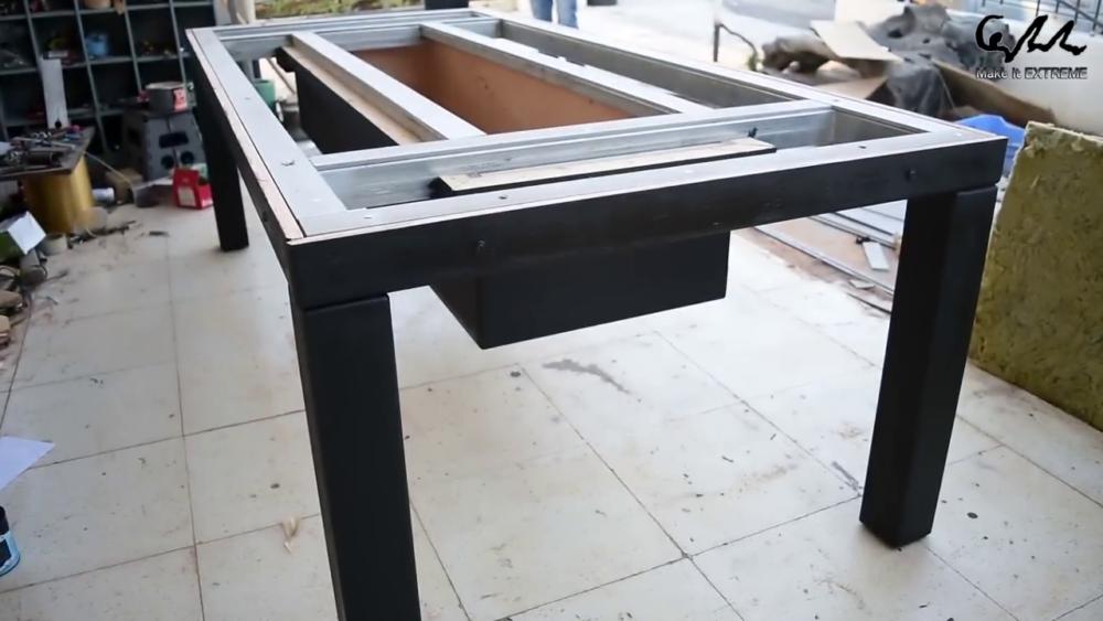 процесс изготовления стол с барбекю шаг 51