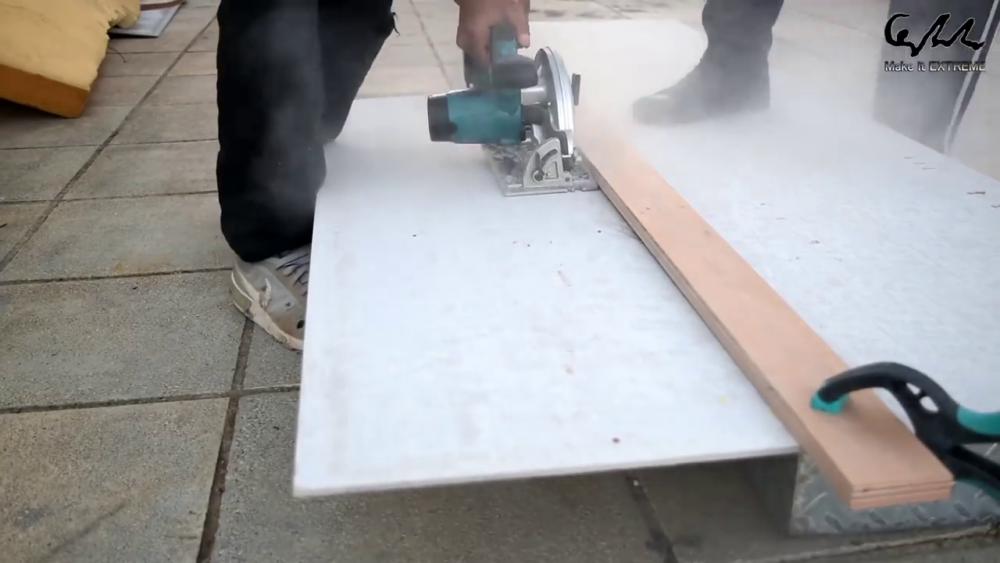 процесс изготовления стол с барбекю шаг 54