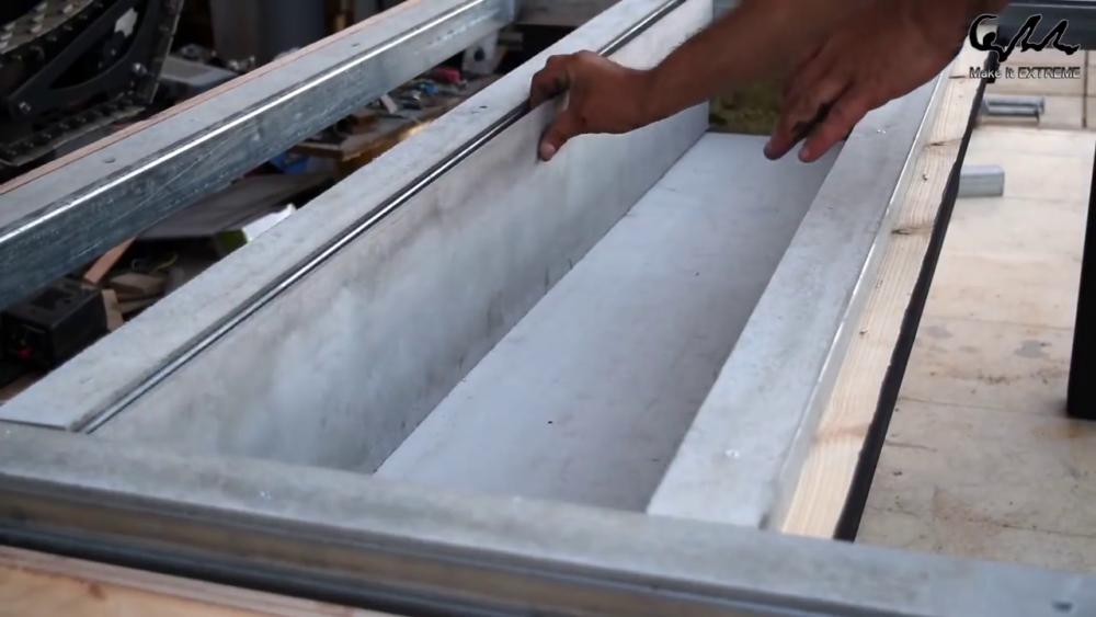 процесс изготовления стол с барбекю шаг 56