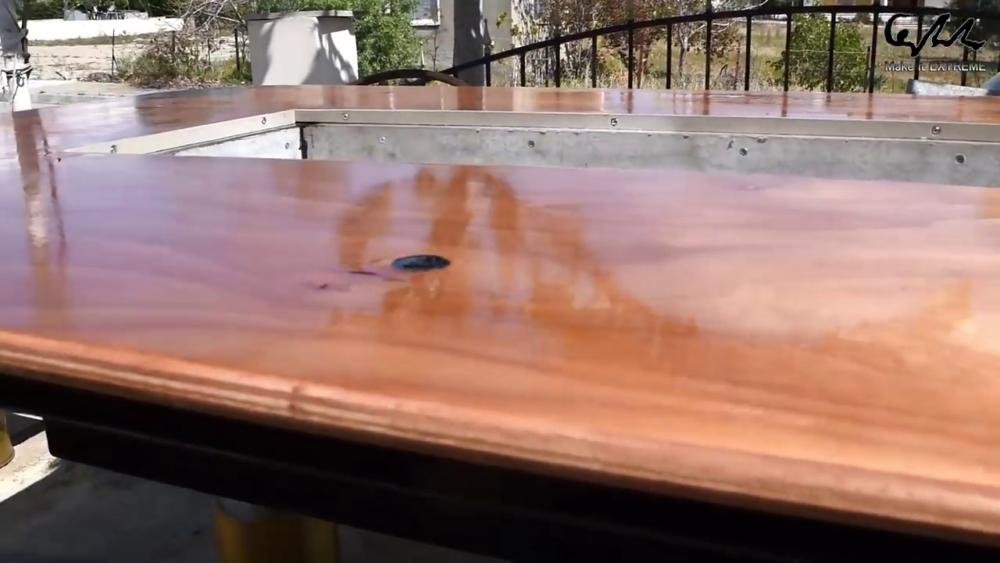процесс изготовления стол с барбекю шаг 75