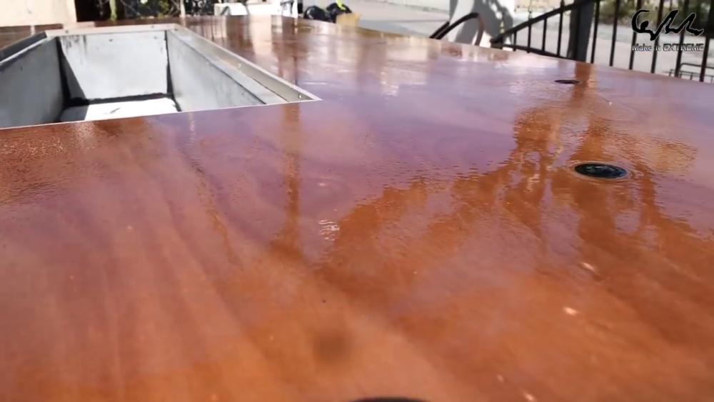 процесс изготовления стол с барбекю шаг 76