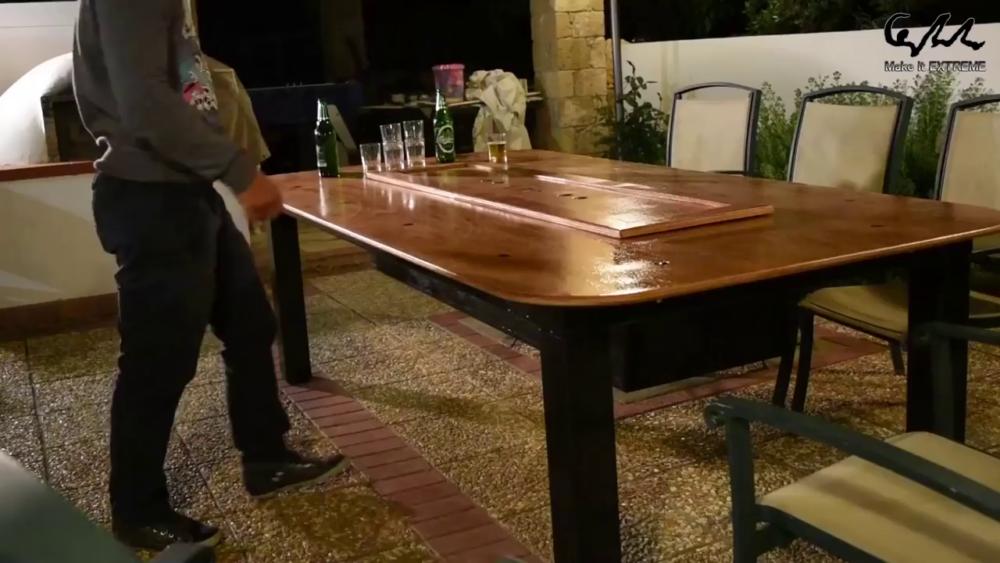 процесс изготовления стол с барбекю шаг 77