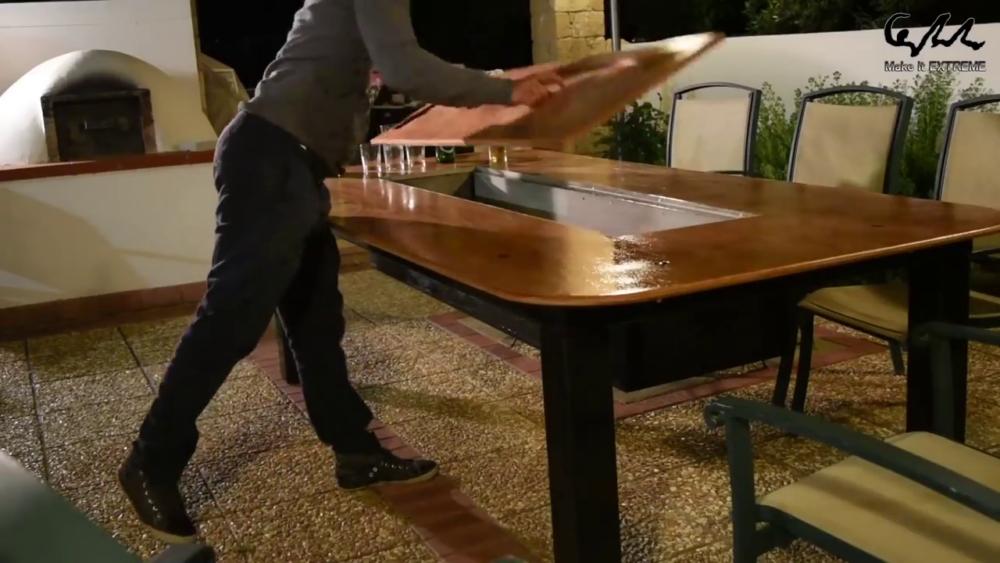 процесс изготовления стол с барбекю шаг 78