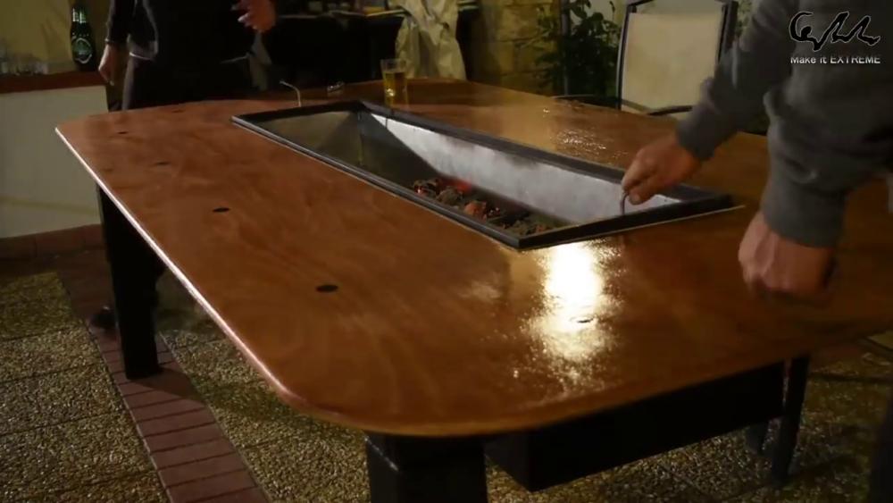 процесс изготовления стол с барбекю шаг 83