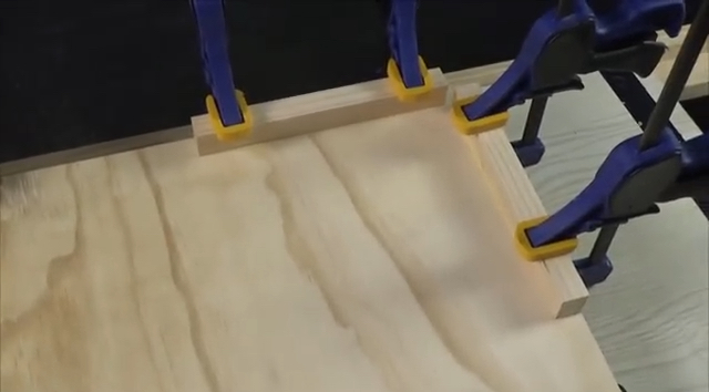 процесс изготовления угловой двойной струбцины шаг 4