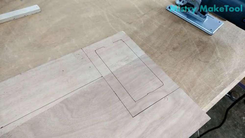 Самодельный циркуль для лобзика своими руками шаг 11