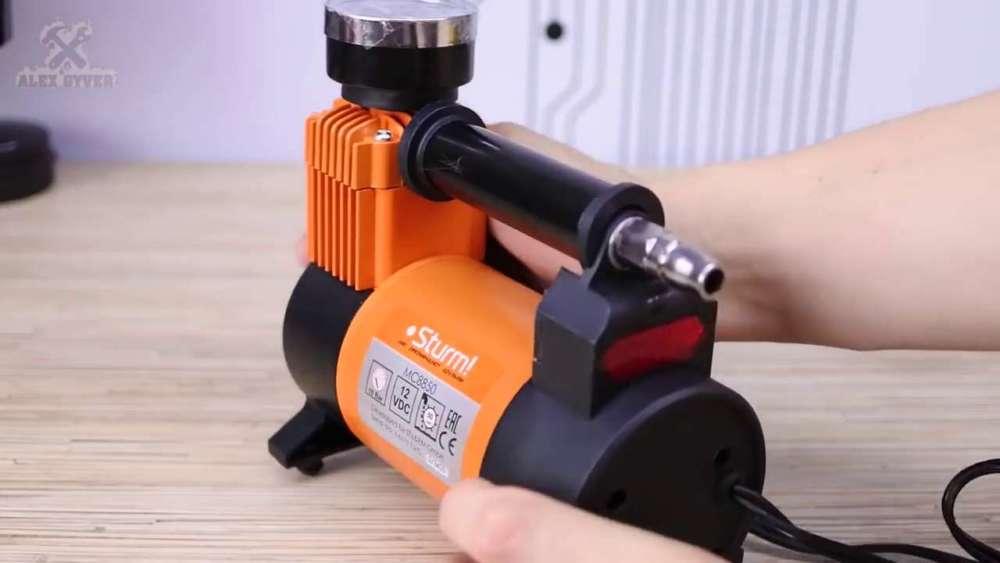 Самодельный компрессор с ресивером из огнетушителя шаг 17