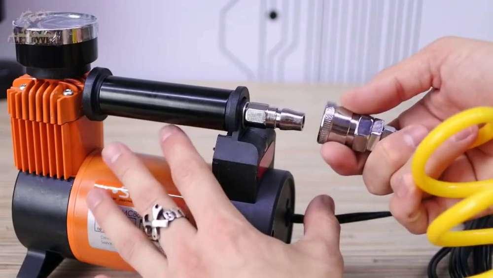 Самодельный компрессор с ресивером из огнетушителя шаг 19