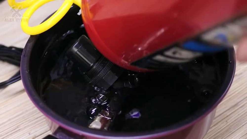 Самодельный компрессор с ресивером из огнетушителя шаг 33