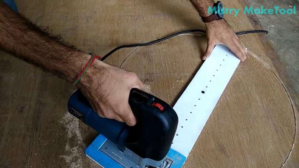 Самодельный циркуль для лобзика своими руками шаг 39