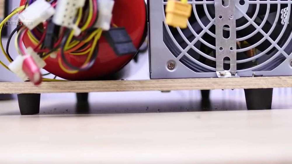 Самодельный компрессор с ресивером из огнетушителя шаг 54