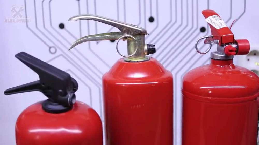 Самодельный компрессор с ресивером из огнетушителя шаг 1