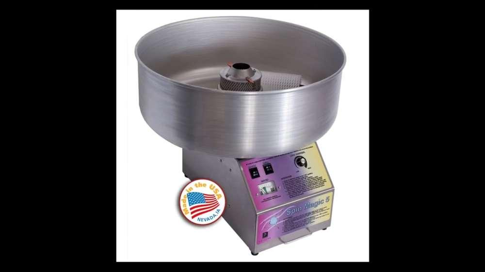 стандартный аппарат для сладкой ваты