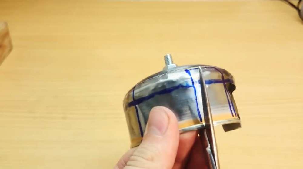 Вырезание лопастей на сепараторе