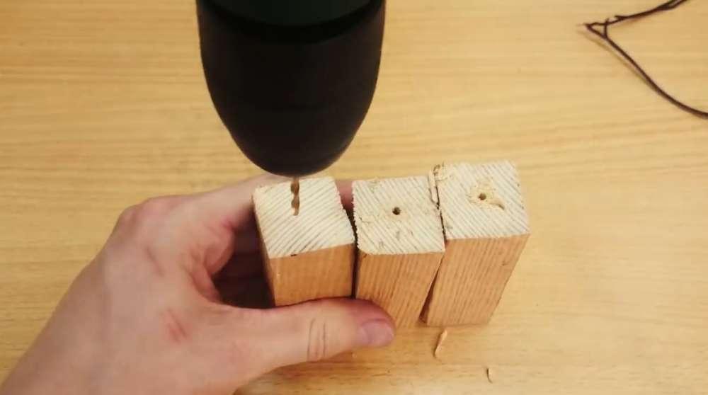 Ножки из деревянного бруса