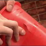 Заделать трещину в пластиковом ведре – легко!