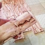 Как без формы делать декоративную плитку-сланец для отделки